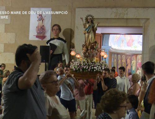Deltebre acompanya a la Mare de Déu de l'Assumpció