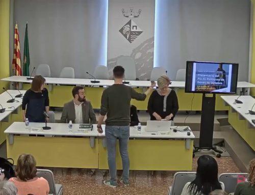 L'Ajuntament de Deltebre presenta el Pla Local de Dones