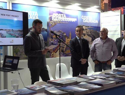 Deltebre presenta l'ampliació del port a la fira nàutica més important d'Europa