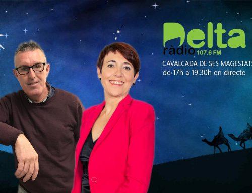 Ràdio Delta retransmetrà en directe la Cavalcada dels Reis