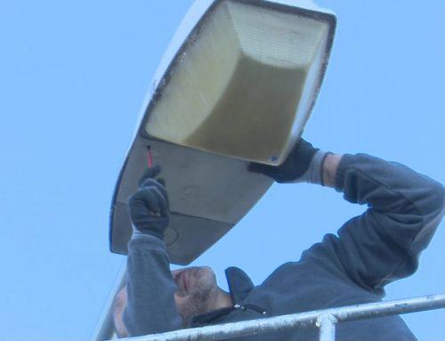Deltebre comença el canvi d'enllumenat a LED a 13 carrers