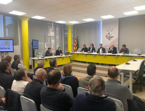 La regressió, punt principal de la reunió que ha acollit l'Ajuntament de Deltebre amb diferents administracions i agents implicats