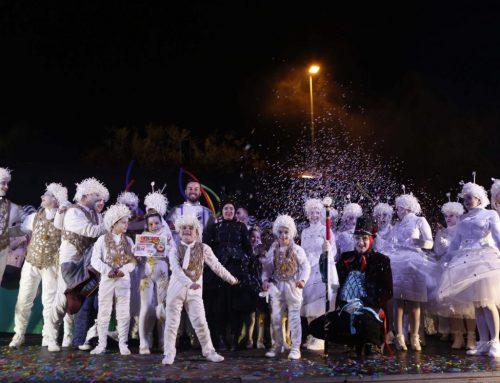 La Colla del Circ Alegria, primer premi del Carnaval de Deltebre