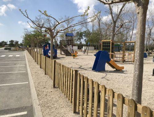 L'Ajuntament de Deltebre inicia els treballs d'adequació dels parcs infantils