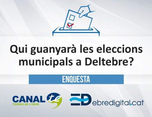 [ENQUESTA] Qui guanyarà les eleccons municipals a Deltebre?