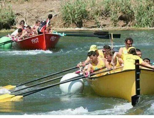 Segona prova del Campionat de Catalunya de Llagut pel Xino-Xano de Deltebre