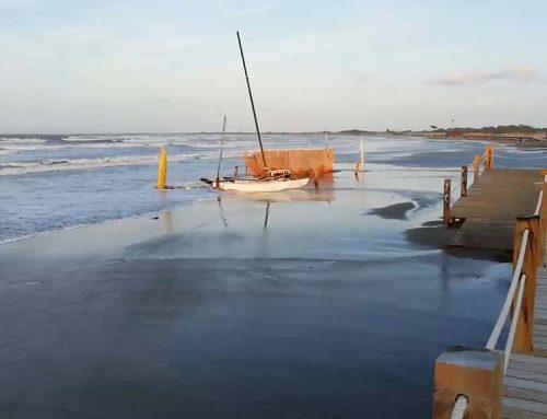 [VÍDEO] Riumar es queda sense platja, després del temporal