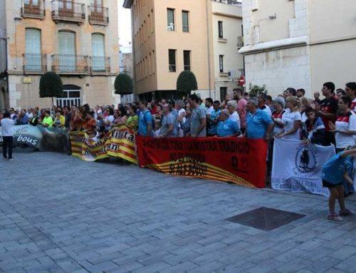 """Alcaldes d'una vintena de municipis ebrencs formen un """"front comú"""" per defensar els correbous i la llei de 2010"""
