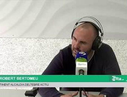 Entrevista a Robert Bertomeu, tinent d'alcaldia de Deltebre Actiu (21-10-2019)