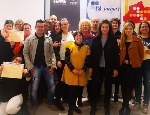 El Baix Ebre forma una vintena de persones en sommelieria i presentació de vins a Deltebre