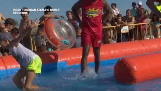 Festes Majors de Deltebre 2019: 3r Gran Tobogan aquàtic doble
