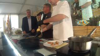 Showcooking Mescla 2019: Demostració de cuina i tast de Joan Pons i Gerard Roglan - Miami Can Pons