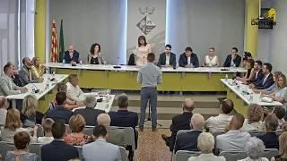Sessió de constitució del consistori per al mandat 2019 - 2023