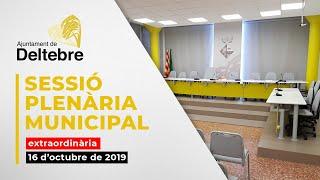 Ple Municipal 16/10/2019