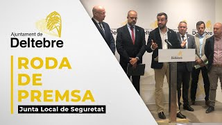 Valoració Junta Local de Seguretat 12/09/2019