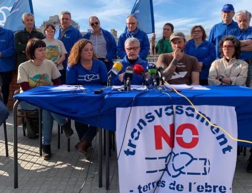 PDE i ecologistes retreuen a la CHE que negui la subsidència del delta de l'Ebre i rebutgi mobilitzar sediments dels pantans