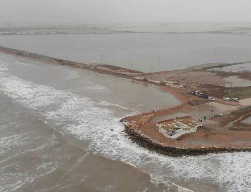 2.000 hectàrees d'arrossars inundades amb aigua salada segons Agricultura