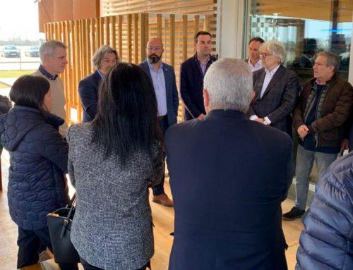 Foment contribuirà a accelerar l'arribada d'ajuts de les administracions per fer front als danys provocats pel Glòria al delta de l'Ebre