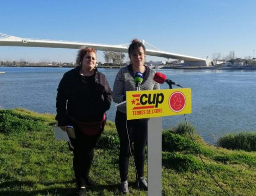La CUP demana l'obertura de la Taula de Consens a tots els implicats en la defensa del territori