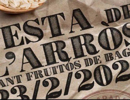 La Festa de l'Arròs de Sant Fruitós de Bages se solidaritza amb els productors del Delta de l'Ebre damnificats pel Glòria