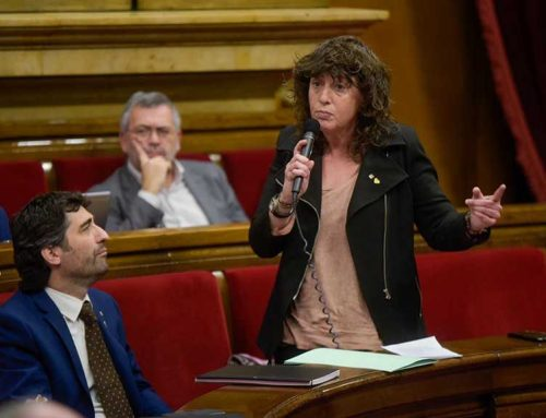 """Teresa Jordà: """"Ja estem treballant per restituir la capacitat productiva després del temporal"""""""