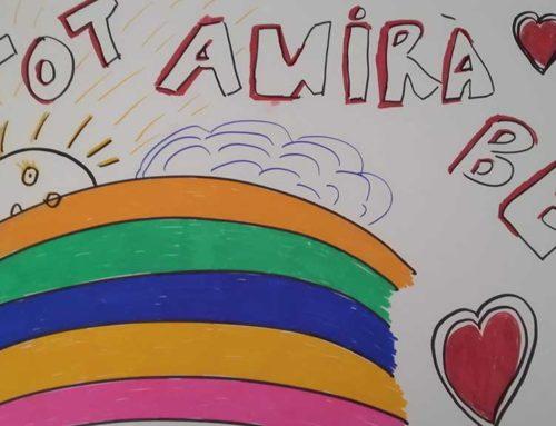 Deltebre anima als xiquets i xiquetes a dibuixar per l'esperança