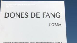 Inauguració de la Plaça de les Dones i descoberta de la figura Dones de Fang Deltebre
