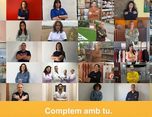 """""""Comptem amb tu"""", la crida que enceta la nova campanya de promoció del comerç local de FECOTUR i l'Ajuntament de Deltebre"""