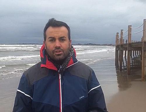 """Deltebre reclama """"urgència"""" per a recuperar el litoral del Delta després que l'impacte del darrer temporal n'hage agreujat la situació"""