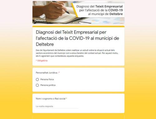 L'Ajuntament de Deltebre realitza una enquesta per conèixer la situació real d'empreses, comerços i autònoms