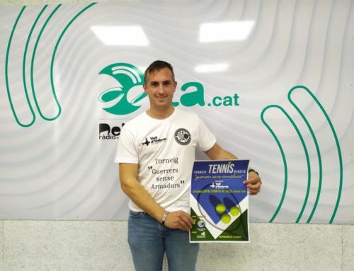 L'Escola de Tennis Delta Smash farà entrega d'un xec de 1.152 € a l'Hospital La Vall d'Hebron de Barcelona per a finançar la nova unitat de Neonatologia