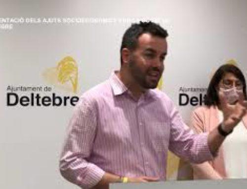 Presentació d'ajuts socioeconòmics de l'Ajuntament de Deltebre per la COVID 19