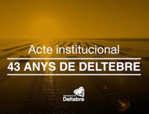Acte institucional dels 43 anys de Deltebre