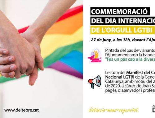 Deltebre commemora dissabte 27, a les 12 h, el Dia Internacional de l'Orgull LGTBI