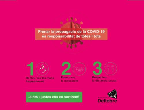 Dos positius més a Deltebre, confirmats ahir per la Regió Sanitària