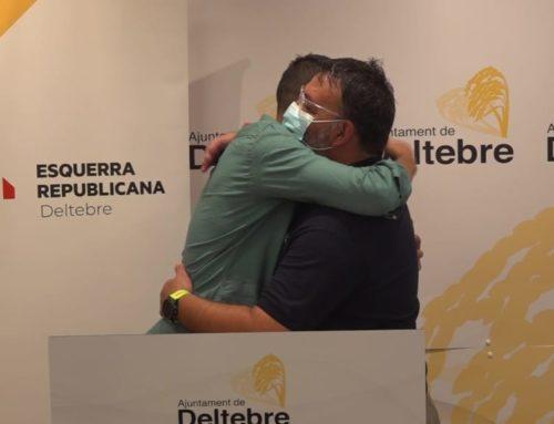 El regidor d'ERC de Deltebre Rafa Flores renuncia a l'acta de regidor per dedicar-se a les seves noves responsabilitats esportives
