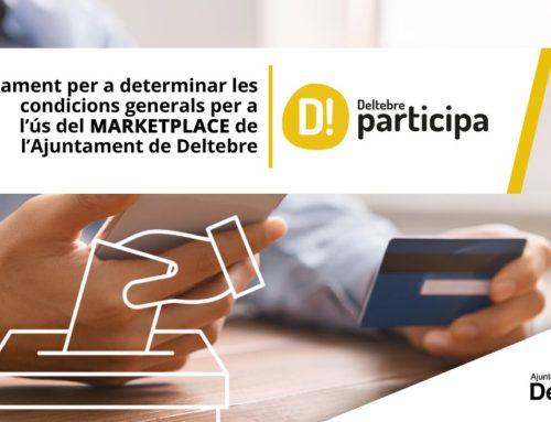 La ciutadania de Deltebre votarà les condicions generals del reglament del marketplace